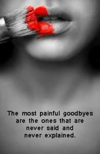 Unspoken Goodbyes